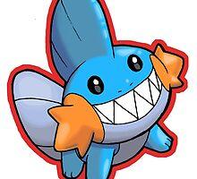 Pokemon - Mudkip by 57MEDIA