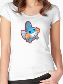 Pokemon - Mudkip Women's Fitted Scoop T-Shirt