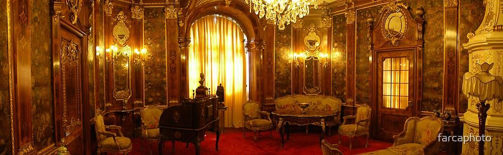 Castle interior by farcaphoto