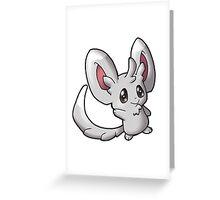 Pokemon - Mincinno Greeting Card