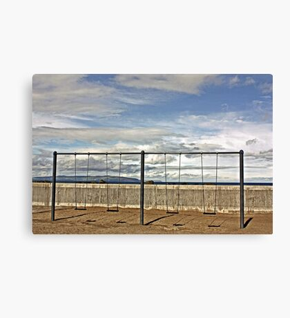 Swings & No Roundabout Canvas Print