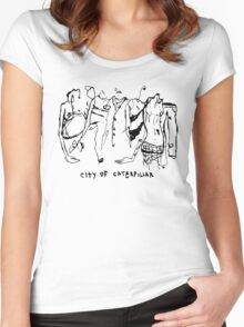City of Caterpillar shirt – demo and live recordings, a split personality Women's Fitted Scoop T-Shirt