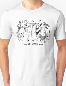City of Caterpillar shirt – demo and live recordings, a split personality T-Shirt
