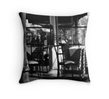 Cafe checks ... Throw Pillow