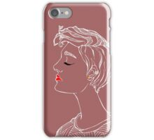 High Class Female iPhone Case/Skin