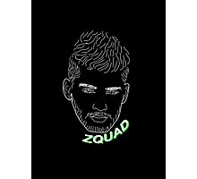 ZQUAD UP (black) Photographic Print