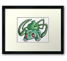 Pokemon - Bulbasaur Framed Print