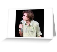 Dave Campbell - Comedian Greeting Card