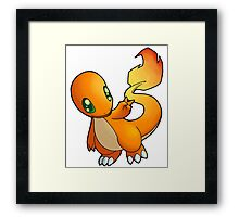 Pokemon - Charmander Framed Print