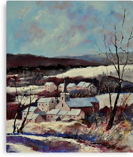 Snow in Vitrival by calimero