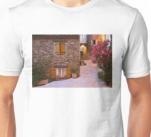 Gassin - classified as a most beautiful village on the French Riviera Unisex T-Shirt