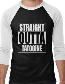 Straight OUTTA Tatooine - Star Wars Men's Baseball ¾ T-Shirt