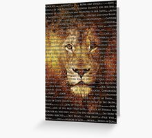 The Names of God Greeting Card