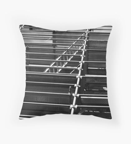Rungs Throw Pillow