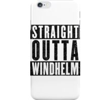 Adventurer with Attitude: Windhelm iPhone Case/Skin