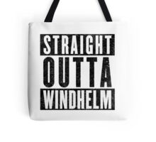 Adventurer with Attitude: Windhelm Tote Bag