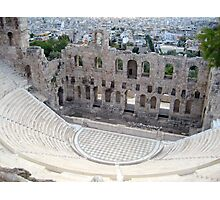 Odeon of Herodes Atticus Photographic Print