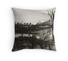 finding ones way while marching with the devil in broad daylight Throw Pillow