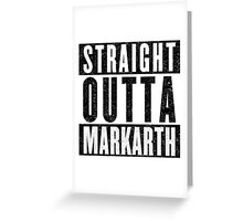 Adventurer with Attitude: Markarth Greeting Card