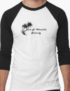 BACK OFF WARCHILD Men's Baseball ¾ T-Shirt