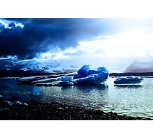 Ice Blue Photographic Print