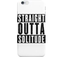 Adventurer with Attitude: Solitude iPhone Case/Skin