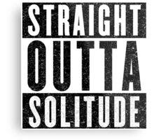 Adventurer with Attitude: Solitude Metal Print
