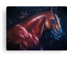 horse sorrow  Canvas Print