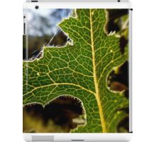 Beauty in a Noxious Weed iPad Case/Skin
