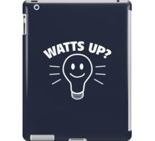 Watts Up? iPad Case/Skin