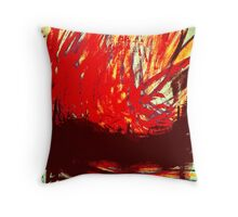 chinese junk..... raging inferno Throw Pillow