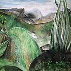 landscape Queenstown Tas. by DeniseKMitchell