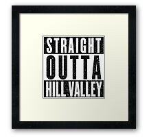 A Hood Place to Live Framed Print