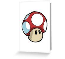 Super Mario Bros. - Mushroom Greeting Card