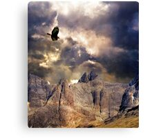 Wonder, Glory and Survival. Canvas Print