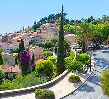 Bormes les Mimosas on the French Riviera by Atanas Bozhikov Nasko