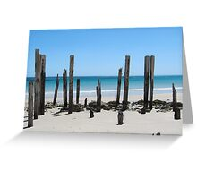 Posts Greeting Card