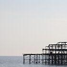 Brighton West Pier by Jack Bailey