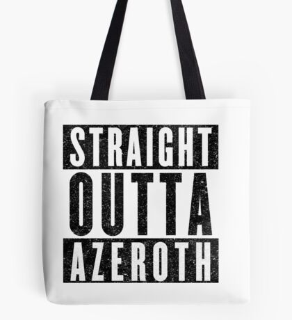 MMORPG Gamer with Attitude Tote Bag