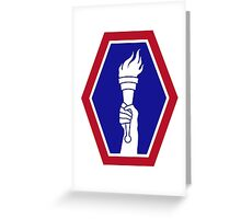 442nd Infantry Regiment (United States) Greeting Card