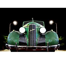 1939 GM LaSalle Convertible Photographic Print