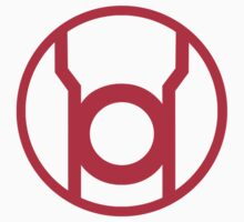 Red Lantern Corps Symbol Kids Clothes