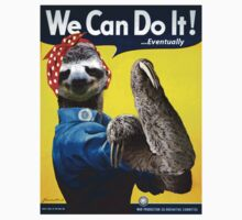 We Can Do It (...Eventually) Sloth One Piece - Short Sleeve