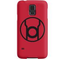 Red Lantern Corps Symbol - Reversed Samsung Galaxy Case/Skin