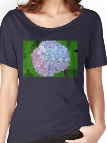 Multi-Colored Hydrangea Women's Relaxed Fit T-Shirt