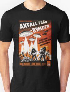 Space orange Unisex T-Shirt