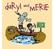 Daryl and Merle Photographic Print