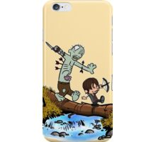 Daryl and Merle iPhone Case/Skin