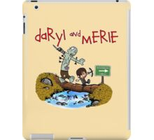 Daryl and Merle iPad Case/Skin