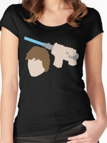 Jedi Knight Inspired Design Women's Fitted Scoop T-Shirt
